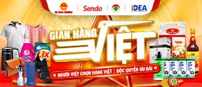 Gian hàng Việt trên Sendo.vn