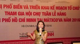 TP.HCM, Đồng Nai xúc tiến đưa hàng sang Nga