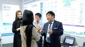 Doanh nghiệp ICT đầu tiên của Việt Nam tham gia triển lãm tại Iran