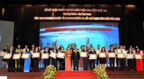 Tôn vinh 200 doanh nghiệp, doanh nhân Tp.HCM tiêu biểu năm 2016