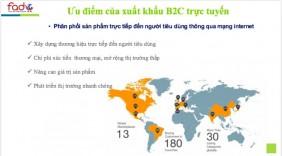 Thương mại điện tử: Cơ hội đưa hàng Việt đến thị trường Mỹ