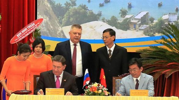 Thúc đẩy quan hệ giữa Ninh Thuận và Kursk