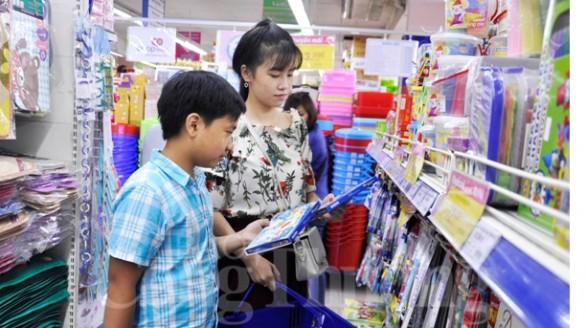 Thị trường đồ dùng học tập TP. Hồ Chí Minh bắt đầu sôi động