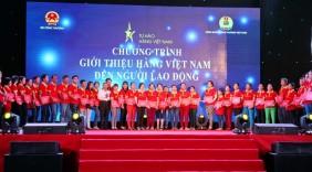 Sôi động chương trình Giới thiệu hàng Việt đến người lao động