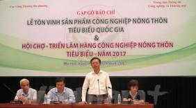 Tôn vinh 102 sản phẩm công nghiệp nông thôn tiêu biểu cấp quốc gia