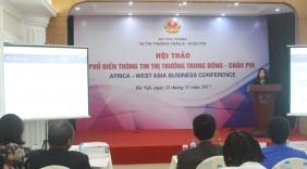 Thị trường Châu Phi, Trung Đông chuộng hàng Việt tầm trung