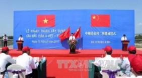 Xây cầu nối Việt Nam - Trung Quốc: Hy vọng hàng nông sản