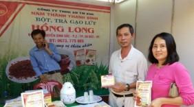 Độc đáo đặc sản gạo sạch Hồng Long