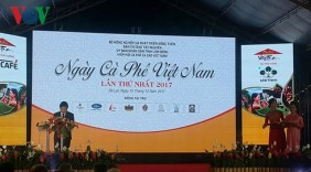 Khai mạc Ngày cà phê Việt Nam lần thứ nhất năm 2017