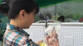 Gà núi, tôm sinh thái...hội tụ ở phiên chợ nông sản thực phẩm an toàn