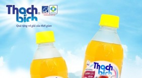 Thương hiệu Thạch Bích ra mắt sản phẩm nước khoáng chanh leo có ga