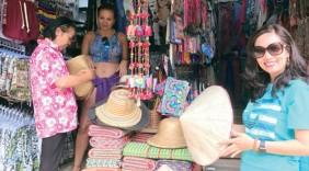 Nón lá Việt ở Krabi