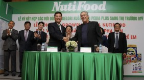NutiFood xuất khẩu sữa vào Mỹ