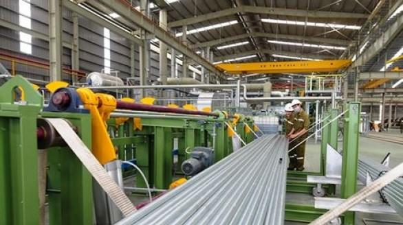 Hoa Sen ra mắt sản phẩm ống kẽm nhúng nóng