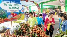 Vải thiều được mùa giá tốt, siêu thị tăng xuất khẩu