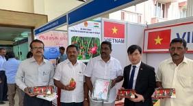 Quảng bá hàng Việt Nam tại Hội chợ nông nghiệp ở Ấn Độ