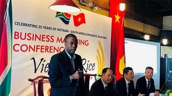 'Nam Phi là thị trường cửa ngõ để gạo Việt Nam tiến vào châu Phi'