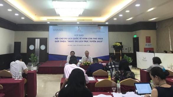 300 gian hàng tham gia Hội chợ du lịch quốc tế Cần Thơ 2019