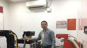 Nam Sơn đưa thương hiệu laser Việt ra biển lớn