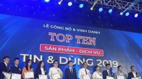 100 thương hiệu Việt Nam được vinh danh sản phẩm Tin và Dùng 2019