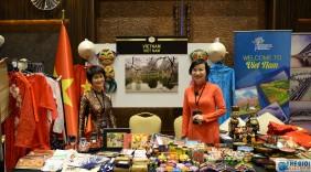 Gian hàng Việt Nam được yêu thích tại Hội chợ từ thiện Bazaar ở Thổ Nhĩ Kỳ
