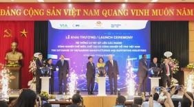 Khai trương Hệ thống cơ sở dữ liệu các ngành công nghiệp chế biến, chế tạo và công nghiệp hỗ trợ Việt Nam