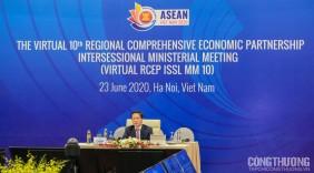 Tái khẳng định quyết tâm ký kết Hiệp định RCEP vào tháng 11/2020