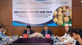 Giao thương trực tuyến: Cơ hội kinh doanh triển vọng cho trái nhãn Việt Nam