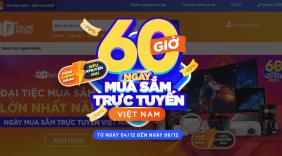 Khởi động '60 giờ mua sắm trực tuyến Việt Nam 2020'