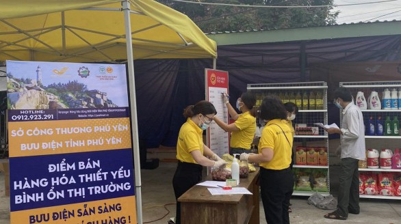Vietnam Post, Viettel Post cung cấp gần 5.800 tấn nhu yếu tại các tỉnh giãn cách xã hội