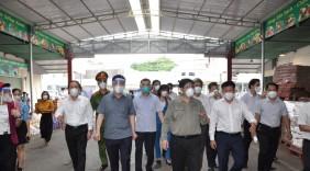 Bộ trưởng Nguyễn Hồng Diên tham gia Đoàn Công tác của Chính phủ về công tác chống dịch Covid-19 tại một số tỉnh phía Nam