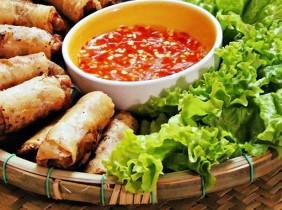 Ram cuốn cải - Đặc sản Đà Nẵng