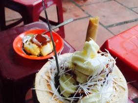 Điểm mặt 2 quán kem dừa ngon có tiếng ở Hà Nội