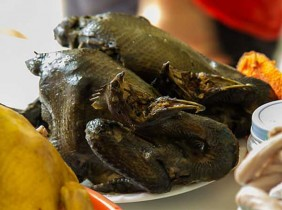 Du lịch Sa Pa đừng quên thưởng thức thịt gà đen