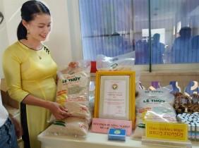 Xây dựng thương hiệu gạo Lệ Thủy - Quảng Bình