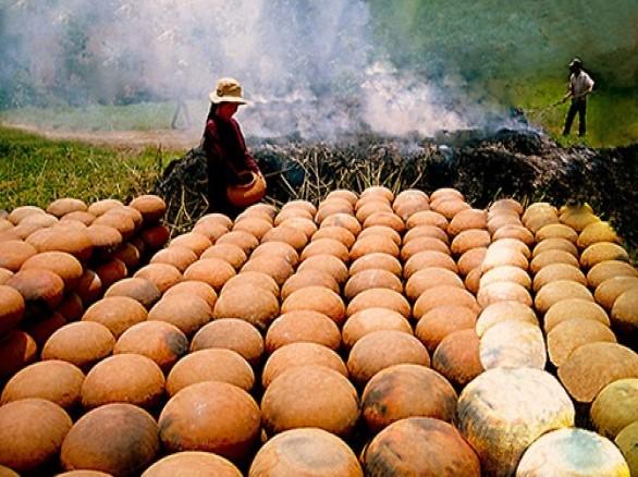 Làng nghề nắn nồi ở Hòn Đất Kiên Giang