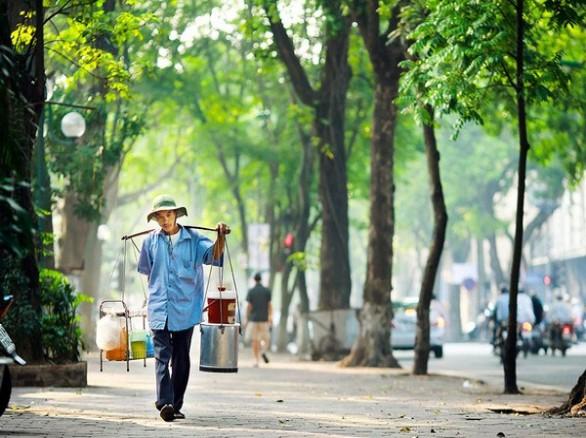 Những gánh hàng rong - hình ảnh quá thân quen với những người Hà Nội