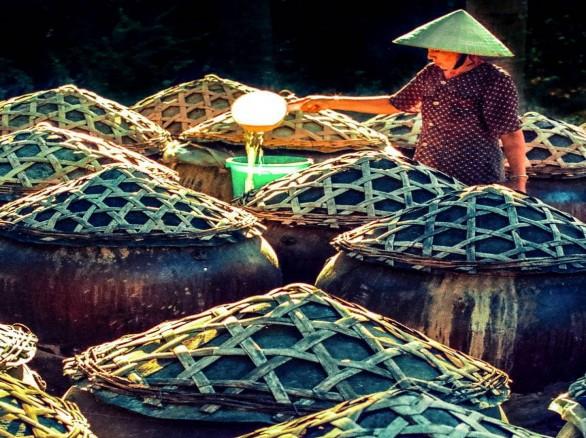 Làng nghề làm nước mắm ở Phan Thiết