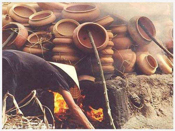 Làng nghề gốm cổ Trù Sơn