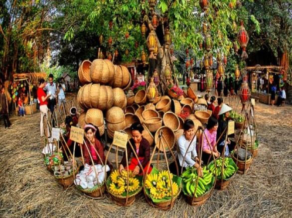 Chợ quê - nét văn hóa của dân tộc Việt Nam