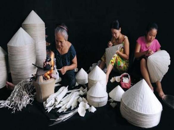 Làng nghề nón lá Nghĩa Châu