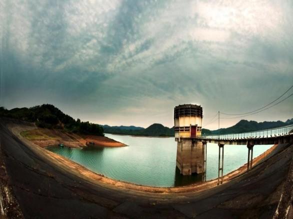 Đẹp mê hồn cảnh đẹp hồ Kẻ Gỗ