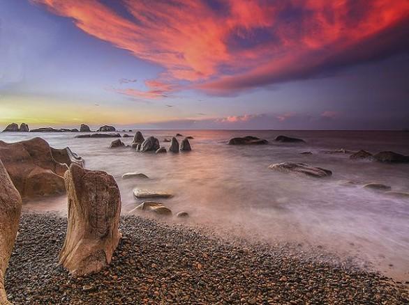 Bãi biển Hàm Rồng - Huế