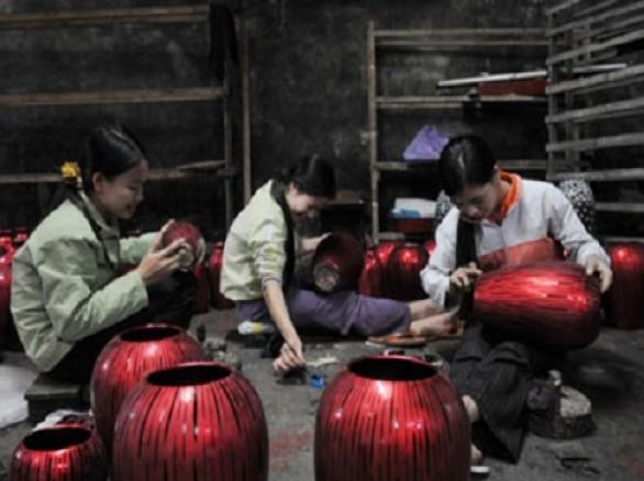 Làng nghề sơn mài Hạ Thái
