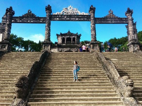 Lăng Khải Định - Công trình độc đáo ở Huế