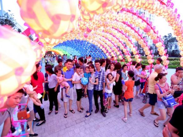 Hình ảnh đẹp về trung thu ở Hà Nội