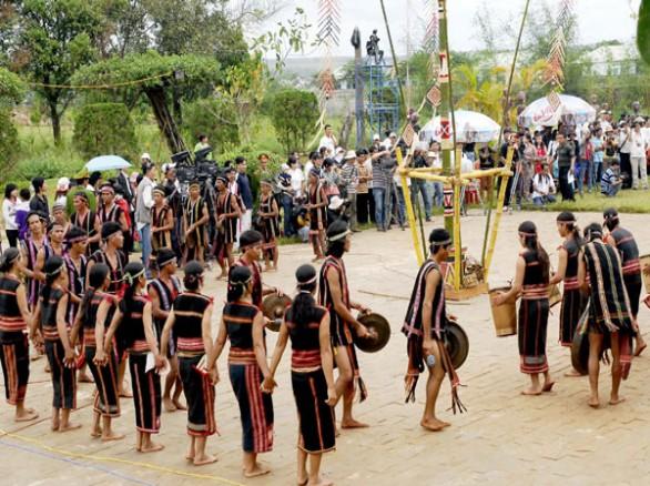 Lễ mừng lúa mới của các dân tộc Tây Nguyên