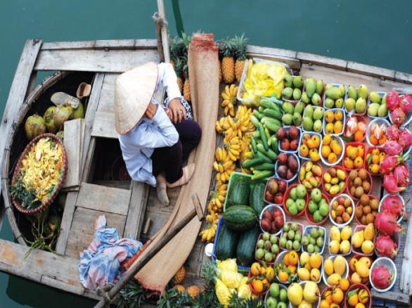 Dạo quanh chợ nổi Ngã Nam