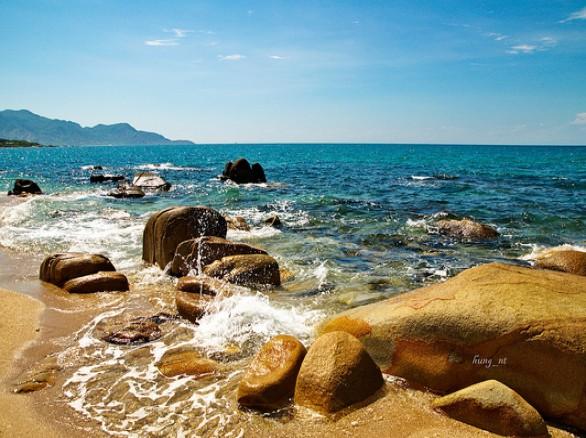 Ấn tượng bãi biển Cà Ná