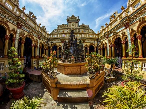 Tham quan Chùa Vĩnh Tràng - Ngôi chùa lớn nhất tỉnh Tiền Giang